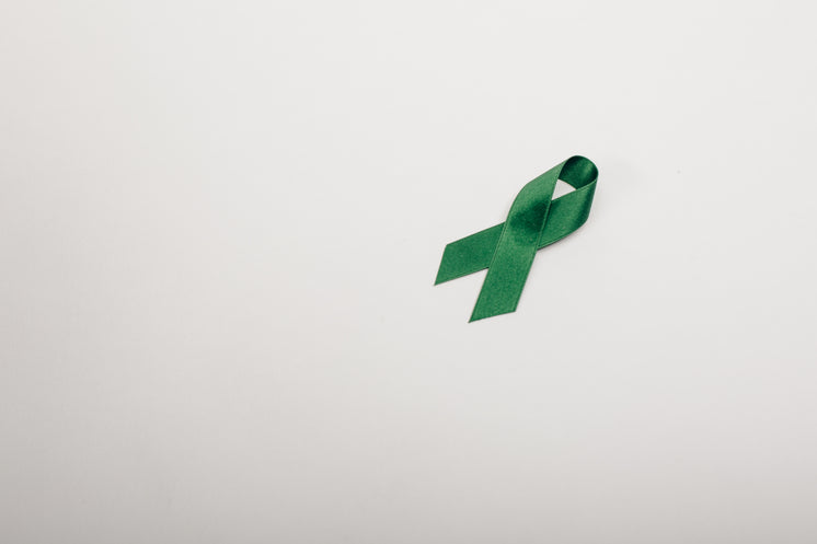 Green Ribbon For Support