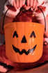 halloween treat pumpkin bucket