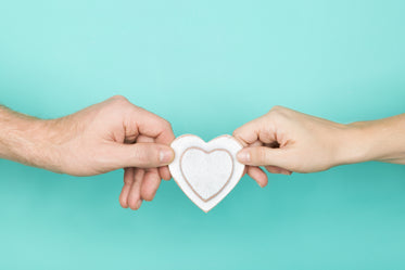 hand with heart