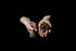 Browse Free HD Images of Hands Holding Cannabis In Shadows