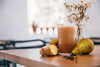 healthy ginger pear smoothie
