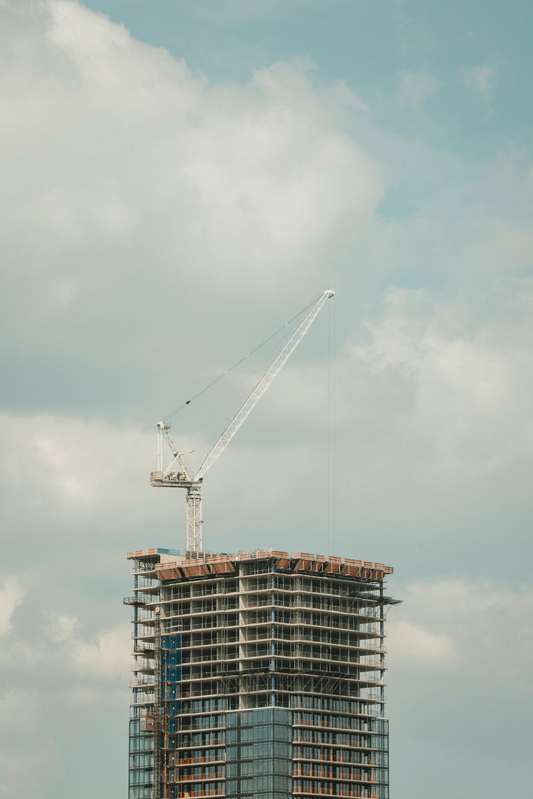 Highrise Construction Building Crane