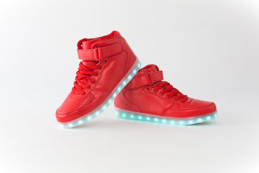 Picture of Hightop Lighted Sneakers - Free Stock Photo