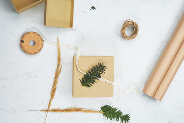 Picture of Holiday Gift Wrapping — Free Stock Photo