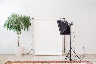 home photography set up