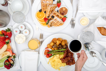 Picture of Hotel Breakfast Room Service — Free Stock Photo