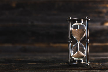 hour glass sands of time