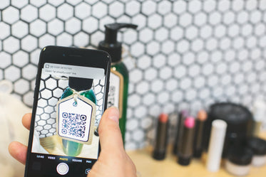 cell phone camera qr scan
