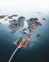 island fishing villages connected by bridges