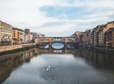 Free Italian Waterway Image: Stunning Photography
