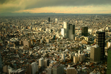 japan city from above