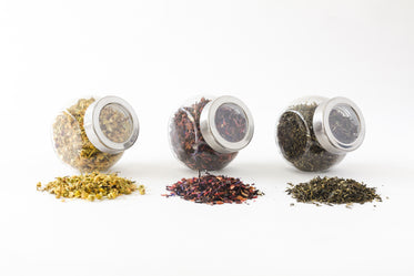 Picture of Jars Of Tea - Free Stock Photo