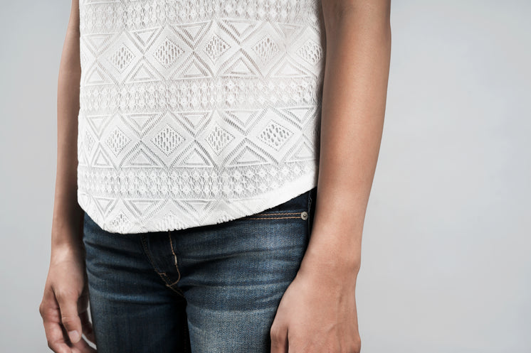 Lace Detail On Womens Top