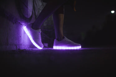 led shoes for women