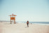 Free Lifeguard Tower On Beach Image: Stunning Photography