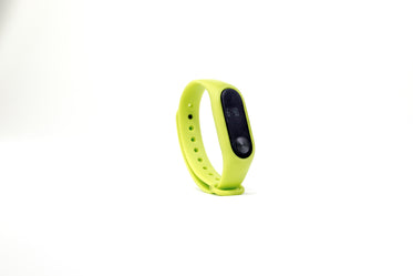 Picture of Lime Green Fitness Tracker - Free Stock Photo