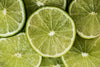 lime slices pile