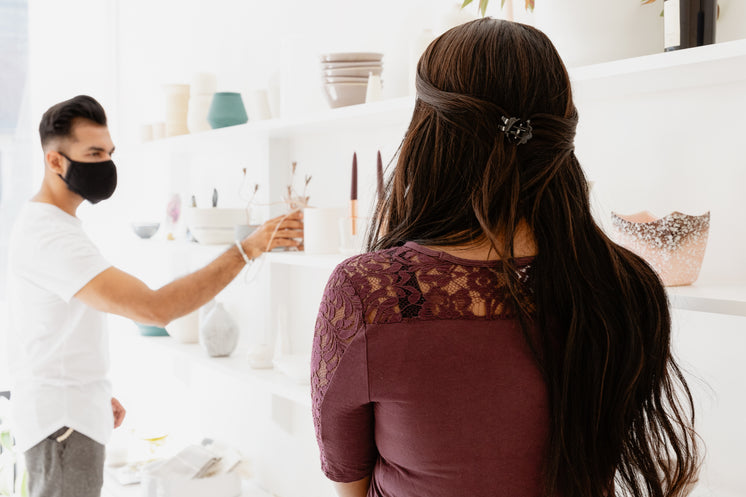 Man And Woman Shop For Home Decor Pieces