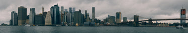 manhattan new york panoramic skyline