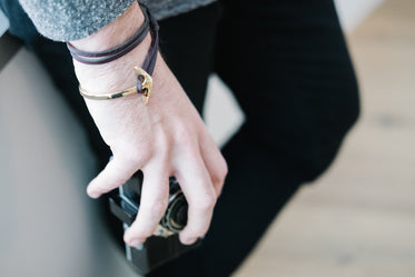 Picture of Mens Anchor Bracelet - Free Stock Photo