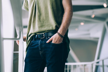 Browse Free HD Images of Men's Fashion Hand In Jeans Pocket