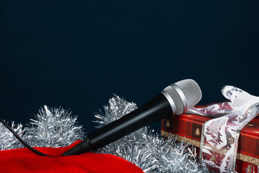 microphone for christmas carols