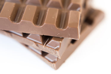 milk chocolate texture