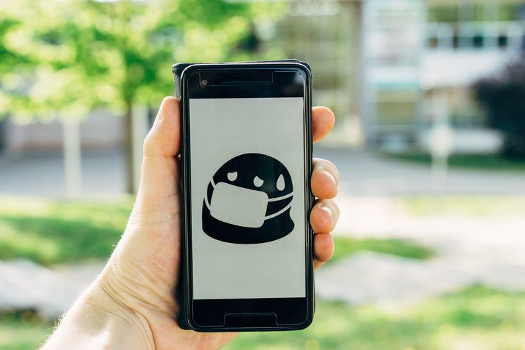 Mobile Phone With Mask Icon