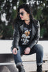 modern leather jacket womens fashion