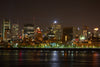 montreal quebec night waterfront
