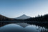 Browse Free HD Images of Mount Hood Peaks Through Forest