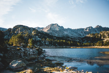 Picture of Mountain Lake In Andorra - Free Stock Photo