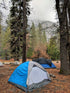 mountainside forest camp ground
