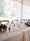mr and mrs sign on table of honor