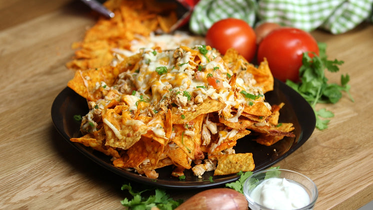 Nachos Made With Doritos