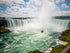 niagara falls in sunshine