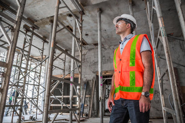 on site construction worker