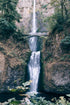 Browse Free HD Images of Oregon Bridge By Multnomah Waterfall