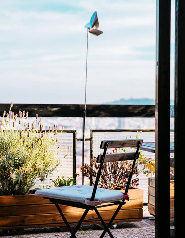 Picture of Patio Chair On Balcony - Free Stock Photo