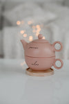 pause and relax with this tea set