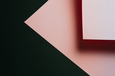 photo of black and pink shapes