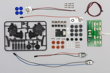 pieces needed for building a robot