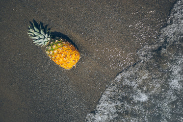 Free Pineapple At The Beach Image: Stunning Photography