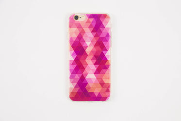 pink patterned iphone case