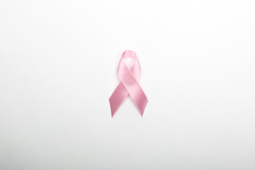 pink ribbon centered