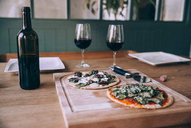 pizza and wine dinner