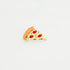 pizza hard enamel lapel pin