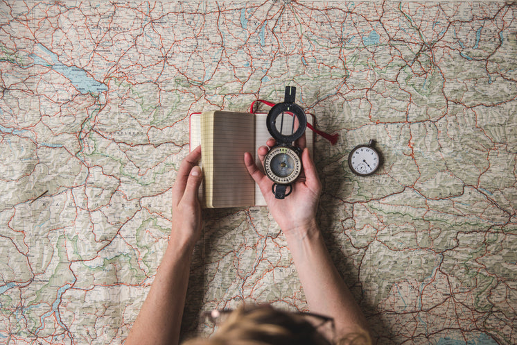 Planning A Hike With Map And Compass