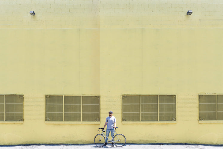 Portrait Of Urban Cyclist