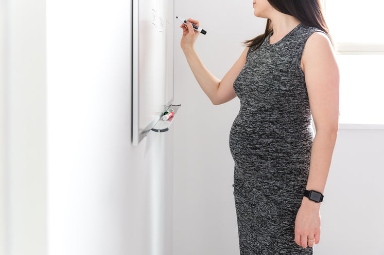 Pregnant Woman Whiteboard
